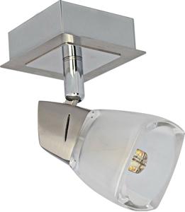 Picture of Quartz 1 Light LED Spotlight (MLSQ1BB) Martec