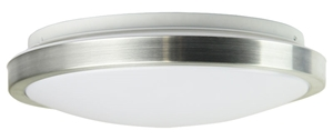 Picture of AURA 36 24W LED Oyster (OL49824AL) Oriel Lighting