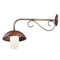 Picture of PORTICO Brass Copper Wall Light (221.25.ORB_T) IL Fanale