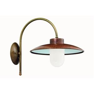 Picture of CALMAGGIORE Exterior Brass Copper Wall Light (234.03.ORB_T) IL Fanale
