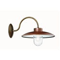 Picture of CALMAGGIORE Exterior Brass Copper Wall Light (235.03.ORB_T) IL Fanale
