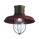 Picture of IL PATIO Exterior Brass Copper Ceiling Light (225.04.ORB) IL Fanale