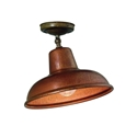 Picture of CONTRADA Exterior Brass Copper Ceiling Light (243.02.OR) IL Fanale