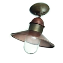Picture of IL BORGO Exterior Brass Copper Ceiling Light (244.03.ORB_T) IL Fanale