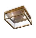 Picture of QUADRO Exterior Brass Ceiling Light (262.03.OT) IL Fanale