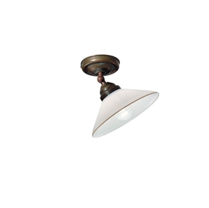 Picture of COUNTRY Brass Ceiling Light (081.23.OV) IL Fanale