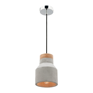 Picture of Moby 1 Light Small Concrete Pendant (MG4031S) Mercator Lighting