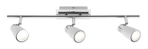 Picture of Alecia 3 Light LED Spotlight (A19233WHT) Mercator Lighting