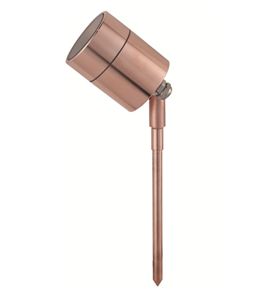 Picture of Elements  AUL-02-CP Pure Copper Spike Uplight Aqualux Lighting