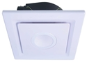 Picture of Emeline II Large Square Exhaust Fan (BE330ESPWH) Mercator Lighting