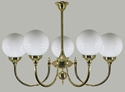 Picture of Kent 5 lights Solid Brass Pendant Lode International