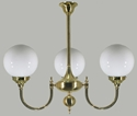 Picture of Kent 3 lights Solid Brass Pendant Lode International
