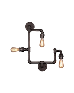 Picture of Foundry 3 Light Wall/Ceiling Light (201526) Eglo Lighting
