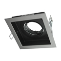 Picture of DSL-101/1S Square Slotter Single Downlight Frame (70001 70002) Domus Lighting