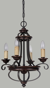 Picture of Columbus 4 Light Pendant (Columbus/PD/4L) Lighting Inspirations