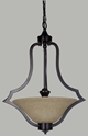 Picture of Boston 3 Light Single Suspension Pendant (Boston/Single/3Lt) Lighting Inspirations