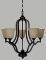 Picture of Boston 5 Light Pendant (Boston/PD/5Lt) Lighting Inspirations
