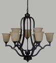 Picture of Boston 9 Light Pendant (Boston/PD/9Lt) Lighting Inspirations