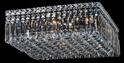 Picture of Quadrato 5 Light 40CM Crystal Flush (Quadrato/F/5L) Lighting Inspirations