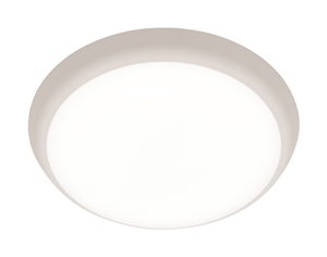 Picture of Andre Round Double Insulated 15W Dimmable LED Ceiling Oyster (MA6815WHT-CCT) Mercator Lighting