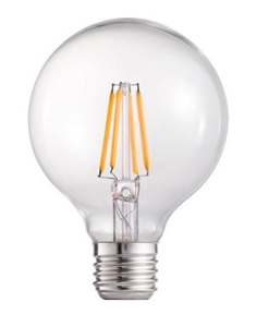 Picture of 8W G125 Dimmable LED Filament Globe