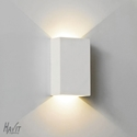 Picture of Gallery Rectangular Plaster LED Wall Light (HV8041) Havit Lighting