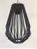 Picture of Ragusa 1 Light Wood Veneer Long Pendant Fiorentino Imports