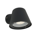 Picture of Cairns Black 240V 1 Light Exterior Wall Light Cougar Lighting