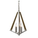 Picture of Graf 3 Light Pendant (Graf PE3-CH-ASH) Telbix