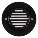 Picture of Recreo Exterior Round Recessed LED Wall/Step Light (HV3219-BLK-RND) Havit Lighting