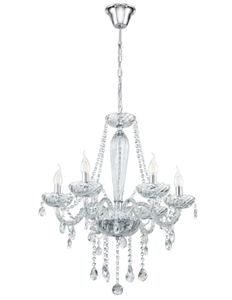 Picture of  Basilano 6 Light Chandelier (39099) Eglo Lighting