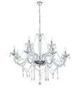 Picture of  Basilano 12 Light Chandelier (39102) Eglo Lighting