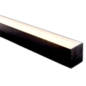 Picture of Black Square LED Profile (HV9693-6070-BLK) Havit Lighting
