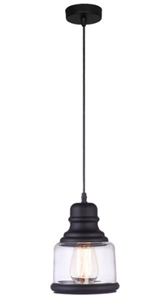 Picture of Belko Single Pendant (0307-Italux) V & M Imports