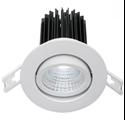 Picture of Gizmo 12 Watt LED downlight - Gimble (MD640) Mercator Lighting