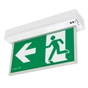 Picture of BLADE Surface Mounted LED Exit Sign with Emergency Downlight (19880/05) Brilliant Lighting
