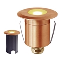 Picture of Stockton Copper 12v LED Ingound Deck/Wall Light (S130C) Seaside Lighting