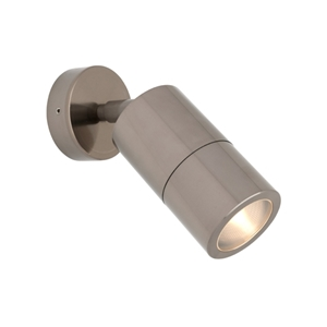 Picture of Stockholm Exterior Titanium 240V Spotlight (STO1WT) Cougar Lighting
