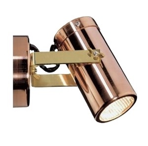 Picture of Exterior 240V Copper Adjustable Wall Spotlight (SG1ACEC ) CLA Lighting