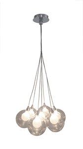 Picture of BOCCI (Replica) Clear or Chrome 7 Lights Pendants V & M Imports