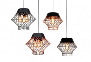 Picture of BALI Metal Wire Pendant Lights V & M Imports