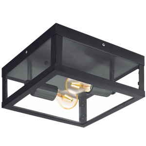 Picture of Alamonte 1 Exterior Ceiling Light (94832) Eglo Lighting
