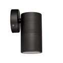 Picture of Exterior Antique Brass 240V Single Fixed Wall Pillar Light (HV1196) Havit Lighting