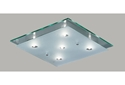 Picture of Ischia 4 Lights or 5 Lights Square Plate Ceiling Lights V & M Imports