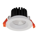Picture of AQUA-10 White Round 10W LED Dimmable Downlight (21222 21226 21230) Domus Lighting