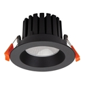 Picture of AQUA-13 Black Round 13W LED Dimmable Downlight (21238 21242 21246) Domus Lighting