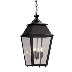 Picture of Black Four Sides Lantern (PD0112P-4) Robert Kitto