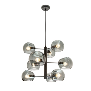 Picture of Milan 9 Light Glass Pendant (MG1739) Mercator Lighting