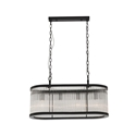 Picture of Canterbury Oval 4 Light Pendant (CE2124) Mercator Lighting