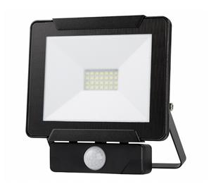 Picture of Dino 20W LED Floodlight With Sensor (MX10220BLK/SEN) Mercator Lighting